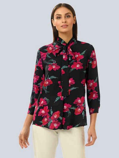 Alba Moda Hemdbluse im floralen Dessin