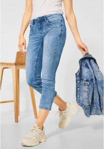 STREET ONE 7/8 ilgio džinsai 5-Pockets Style