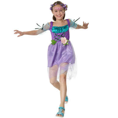 tectake Kostüm »Mädchenkostüm Zauberblumen Fee«