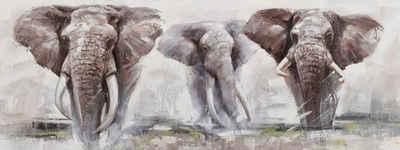 Home affaire Ölbild »Elephant«, Elefanten