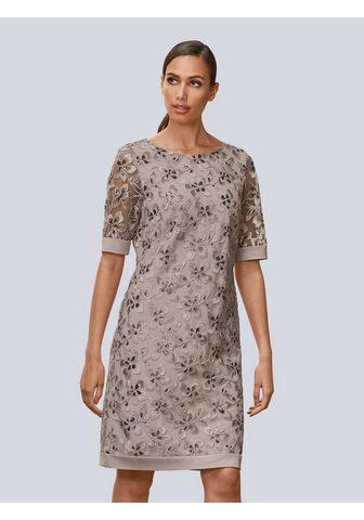 Alba Moda Suknelė su gražus Blüten siuvinėtas
