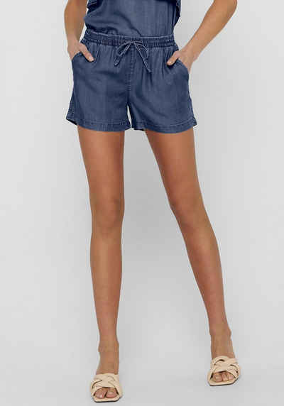 Only Shorts »ONLPEMA« in Denim Optik