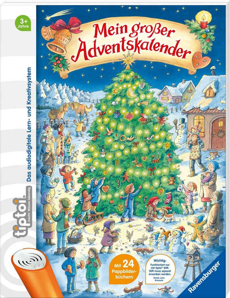 Ravensburger Adventskalender »tiptoi® Mein großer Adventskalender«, FSC® - schützt Wald - weltweit