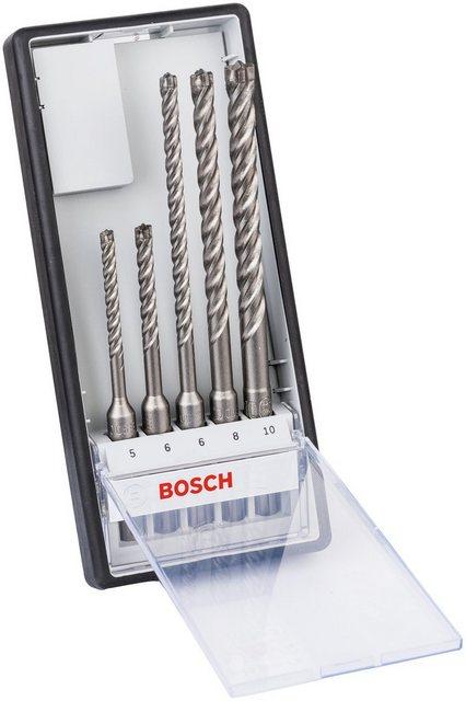 BOSCH Bohrersatz Robust Line , Set, 5-tlg , Hammerbohrer SDS plus-7X