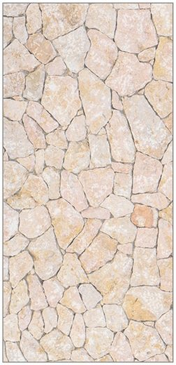 MySpotti Spritzschutz »fresh F3 Natursteinwand Beige«, 100 x 210 cm