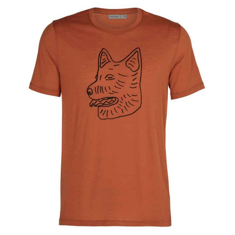Icebreaker Kurzarmshirt »Herren T-Shirt Merino Tech Lite Farmdog«