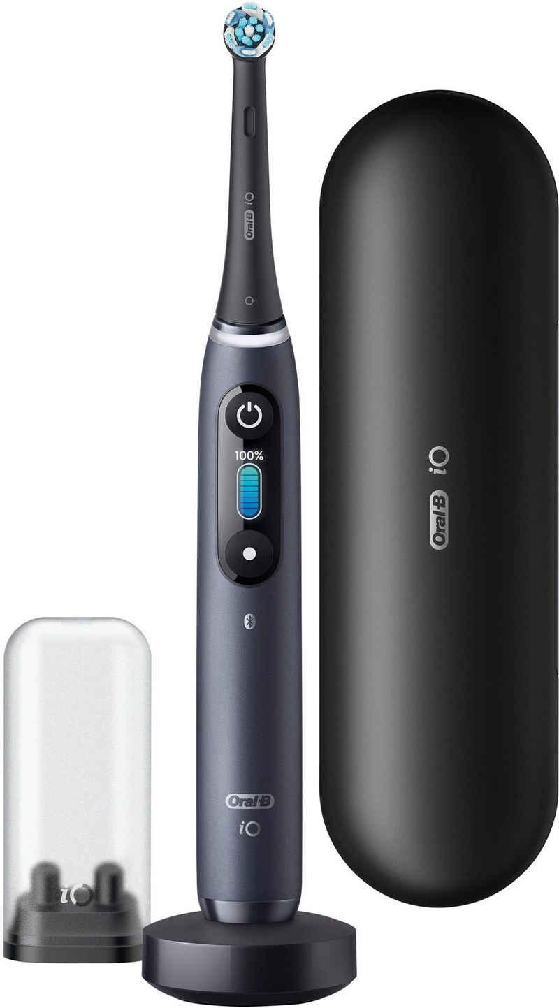 Oral B Elektrische Zahnbürste iO Series 8N, Aufsteckbürsten: 1 St., Magnet-Technologie