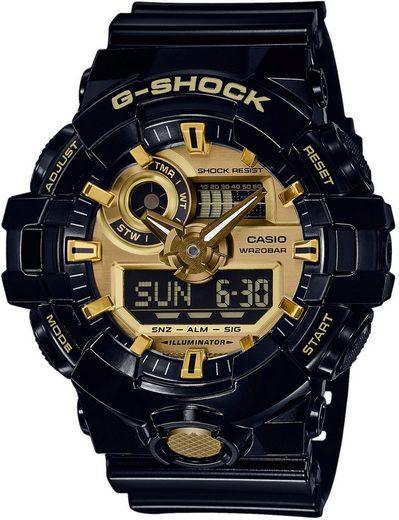 CASIO G-SHOCK Chronograph »GA-710GB-1AER«