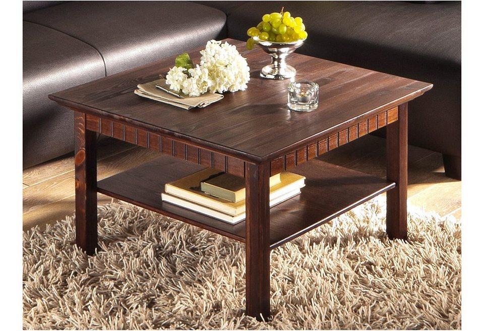 couchtisch home affaire tisch mit ablageboden online. Black Bedroom Furniture Sets. Home Design Ideas