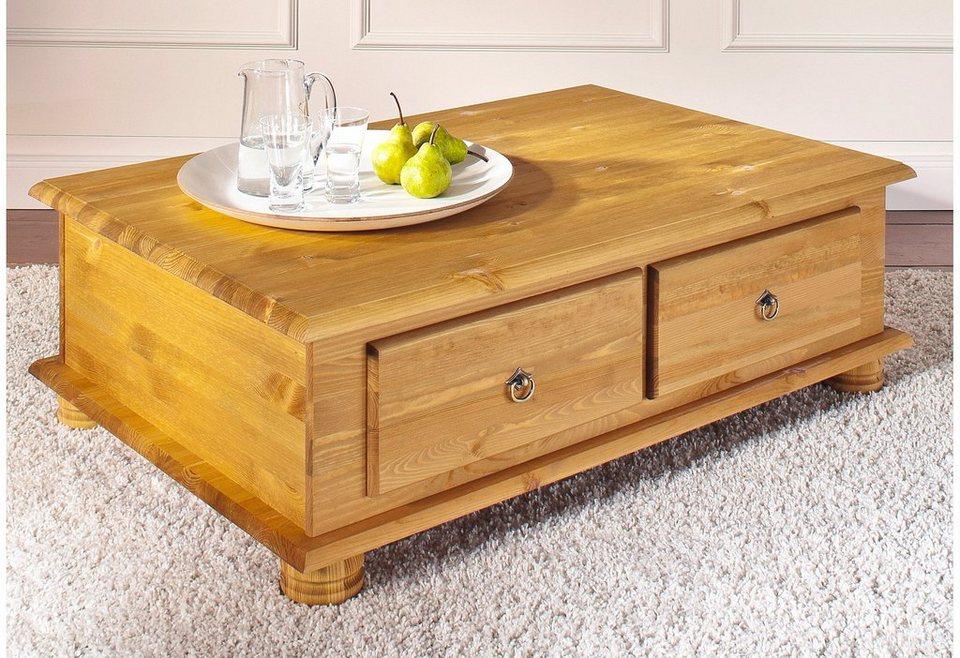 couchtisch home affaire tisch aus massivem kiefernholz online kaufen otto. Black Bedroom Furniture Sets. Home Design Ideas