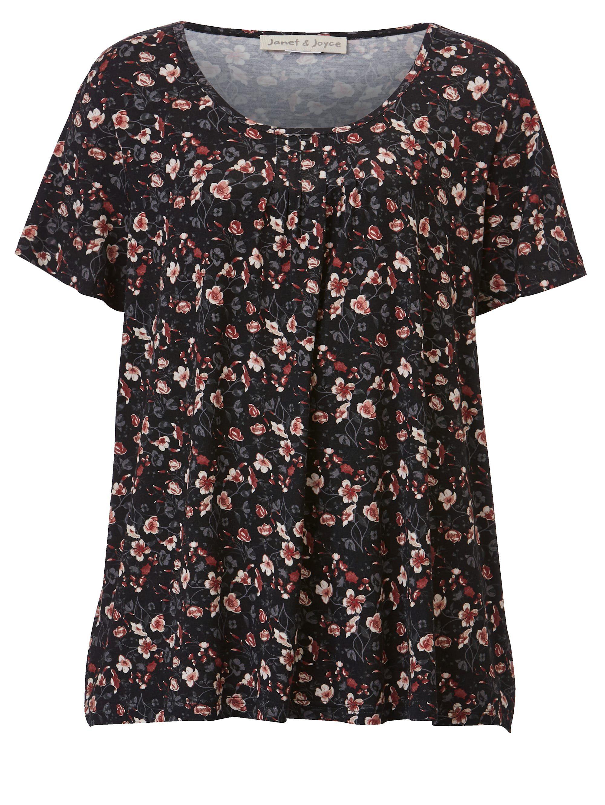 Janet & Joyce By Happy Size Shirt Mit Floralem Druck Online Kaufen qVwb8L8F