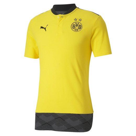 PUMA Poloshirt »BVB Casuals Fußball Poloshirt«