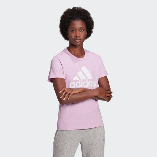 adidas Performance T-Shirt »LOUNGEWEAR ESSENTIALS LOGO«