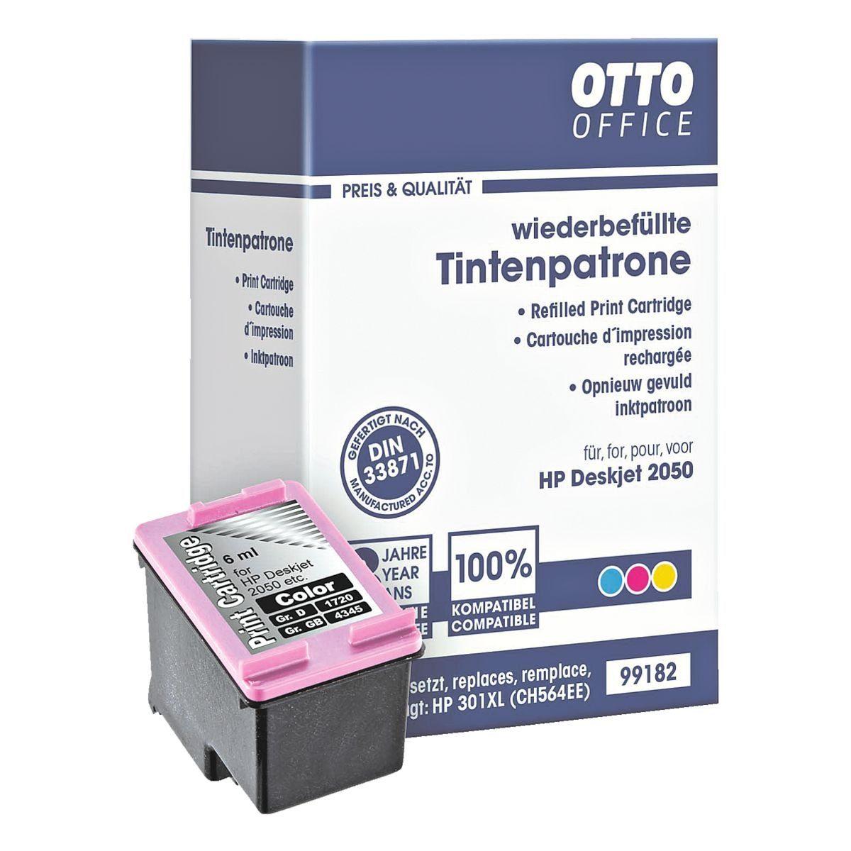 OTTO Office Standard Tintenpatrone ersetzt HP »CH564EE« Nr. 301XL