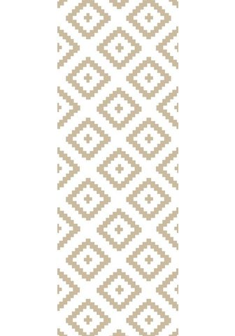 queence Vinyltapete »Muster-Beige« 90 x 250 cm...