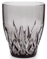 Q Squared NYC Glas, Kunststoff, aus sicherem Material - TRITAN-Kunststoff, 250 ml, 6-teilig