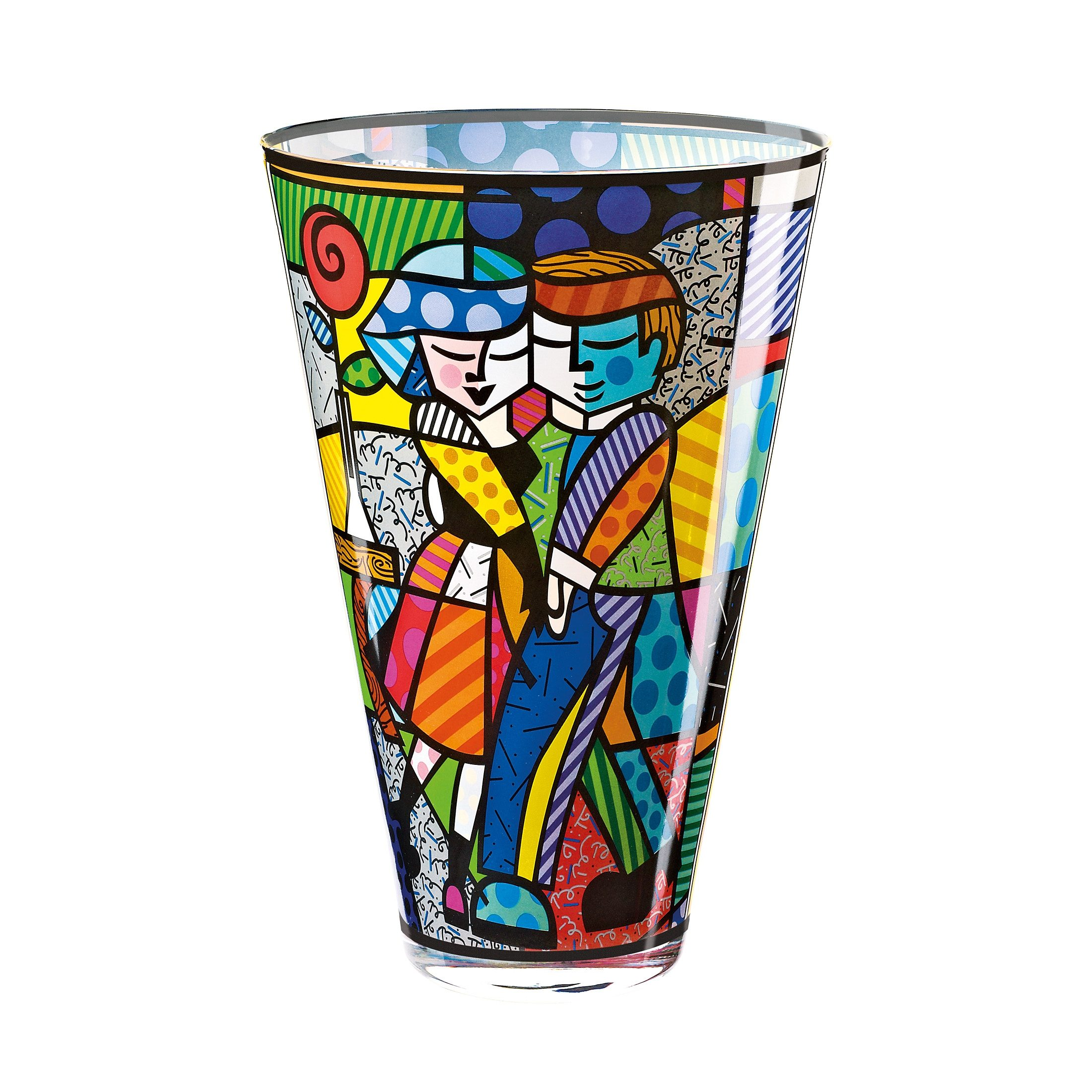 Goebel Vase Cheek to Cheek 30,00 cm »Artis Orbis - Britto«