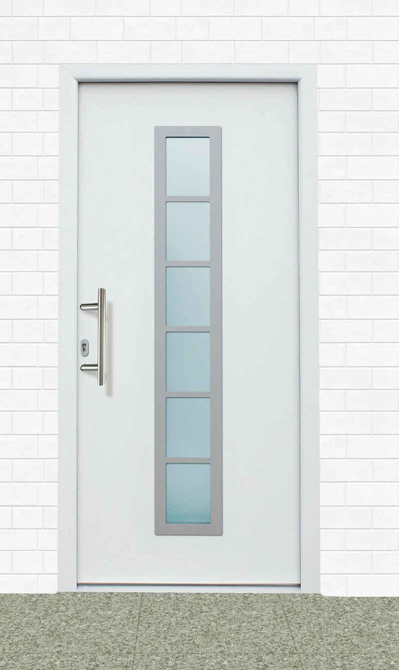 KM Zaun Haustür »A04«, BxH: 108x208 cm, weiß, in 2 Varianten