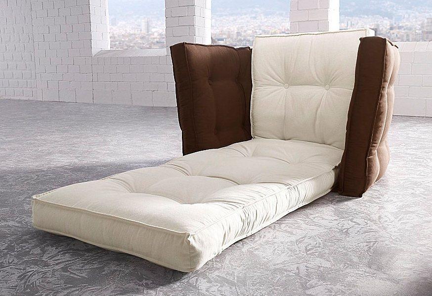 Sessel, Karup in natur/braun