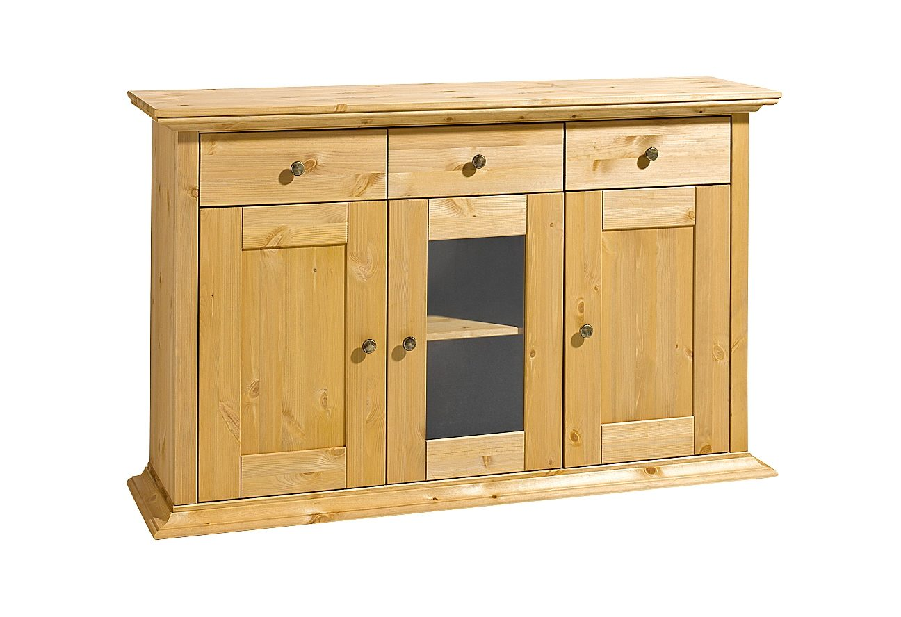 Sideboard, Home affaire, Breite 130 cm, Höhe 80 cm