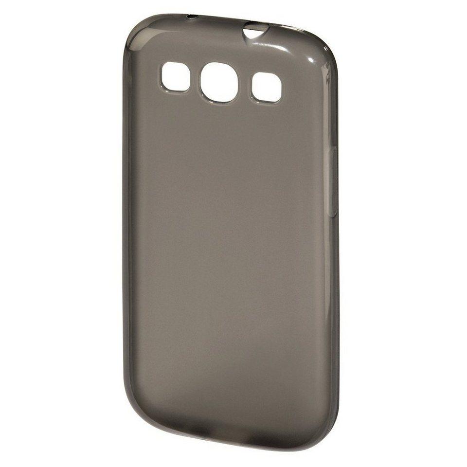 Hama Handy-Cover Crystal für Samsung Galaxy S III/S III Neo, Grau in Grau