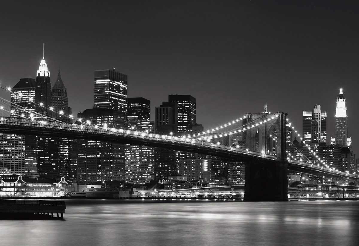 EUROGRAPHICS Wandtapete »New York Skyline«
