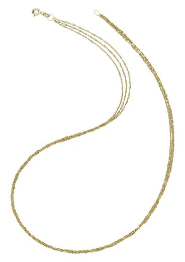 Firetti Goldkette »in Singaprukettengliederung, 3-reihig, diamantiert«