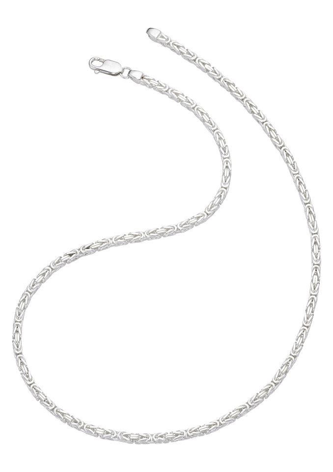 firetti Halsschmuck: Halskette in Königskettengliederung in Silber 925