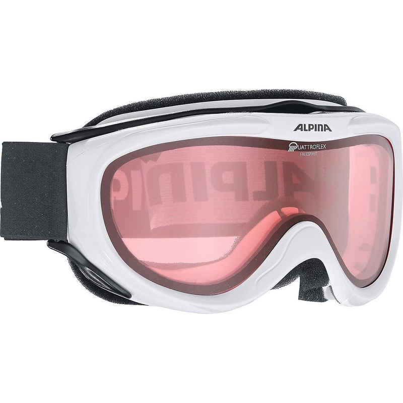 Alpina Sports Skibrille »Skibrille Freespirit Q black trans.«