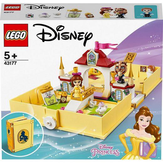 LEGO® Konstruktions-Spielset »LEGO® I Disney Princess™ 43177 Belles Märchenbuch«