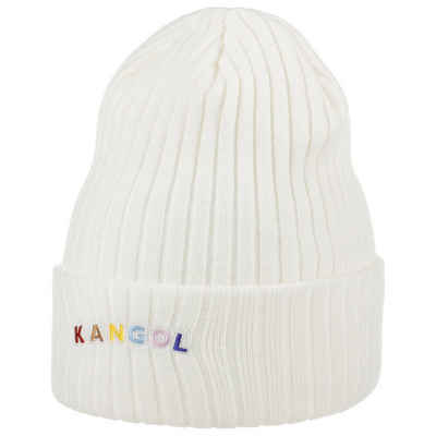 Kangol Beanie (1-St) Strickmütze mit Umschlag