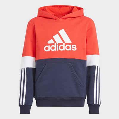 adidas Performance Sweatshirt »COLORBLOCK FLEECE HD ESSENTIALS JUNIOR REGULAR MENS«