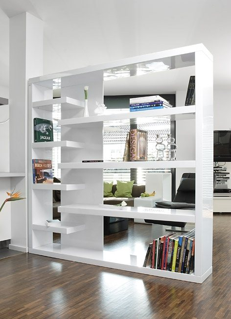 Regal raumteiler massivholz für wohnzimmer rustikal modern 9148082 ...