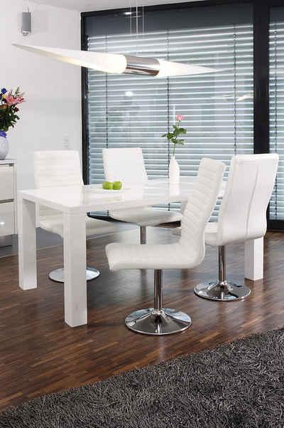 Esszimmermöbel weiß modern  Essgruppe kaufen » Esstisch mit Stühlen & Tischgruppe | OTTO