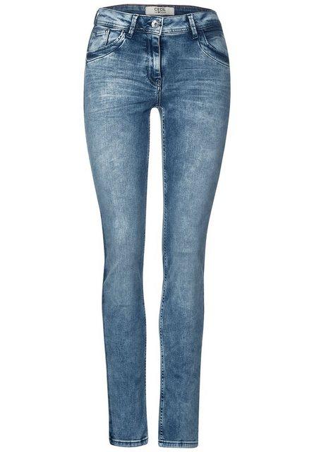 Hosen - Cecil Loose fit Jeans mit Kontrastdetail an den Seitennähten ›  - Onlineshop OTTO