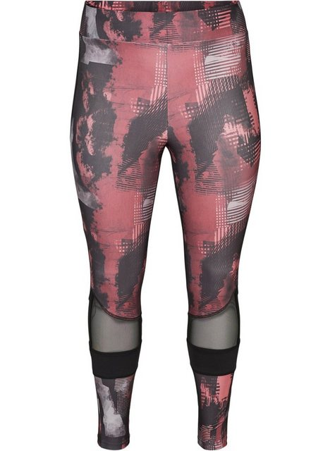 Hosen - Active by ZIZZI Trainingstights Große Größen Damen 7 8 Länge Print ›  - Onlineshop OTTO