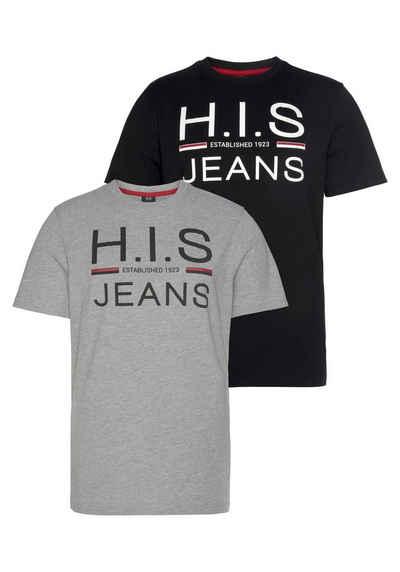 H.I.S Rundhalsshirt (Packung, 2er-Pack)