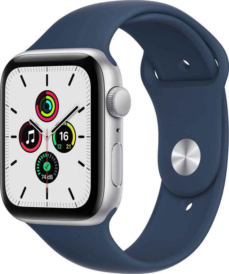 Apple Watch SE GPS, 44 mm Smartwatch (4,52 cm/1,78 Zoll, Watch OS 7)