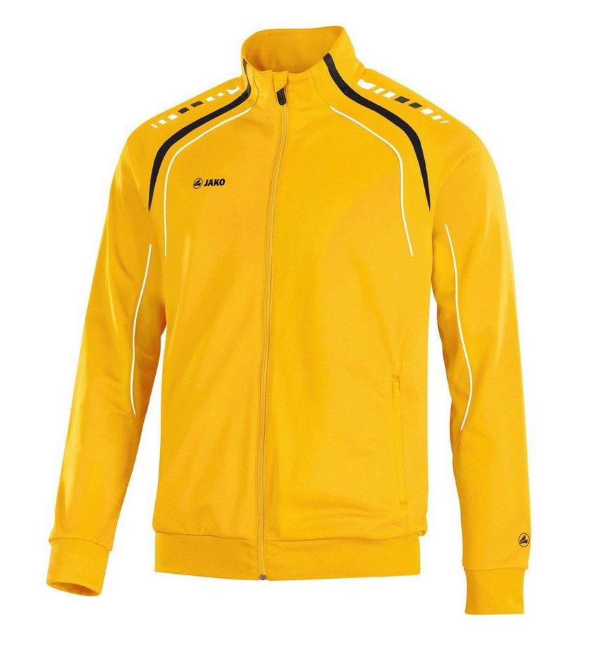 JAKO Polyesterjacke Champion Kinder in gelb/schwarz