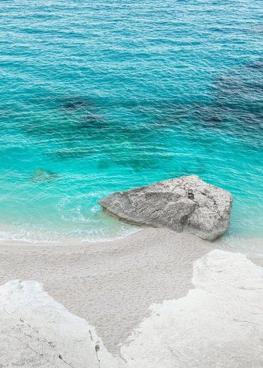 Komar Fototapete »Dreambay«, glatt, mehrfarbig, natürlich, bedruckt, (4 St)