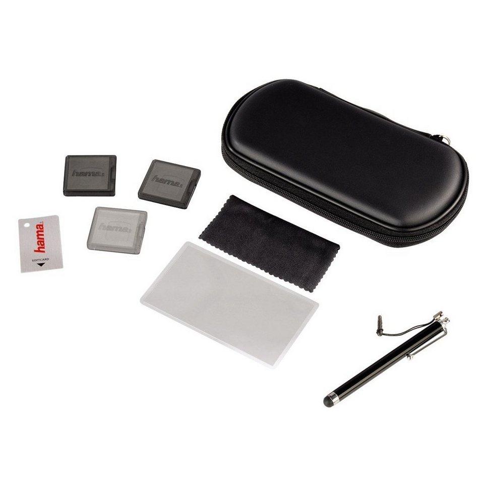 Hama Starter-Set 8in1 für PS Vita, Vita Slim (2000er Serie), Schwarz in Schwarz
