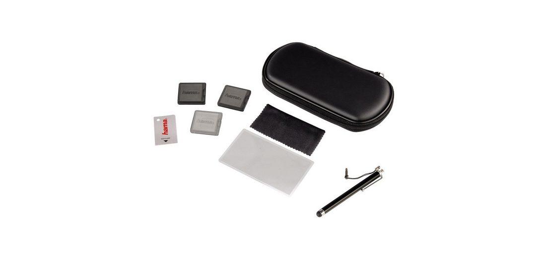 Hama Starter-Set 8in1 für PS Vita, Vita Slim (2000er Serie), Schwarz