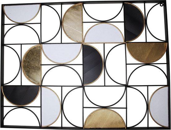Leonique Wanddekoobjekt, Wanddeko, aus Metall