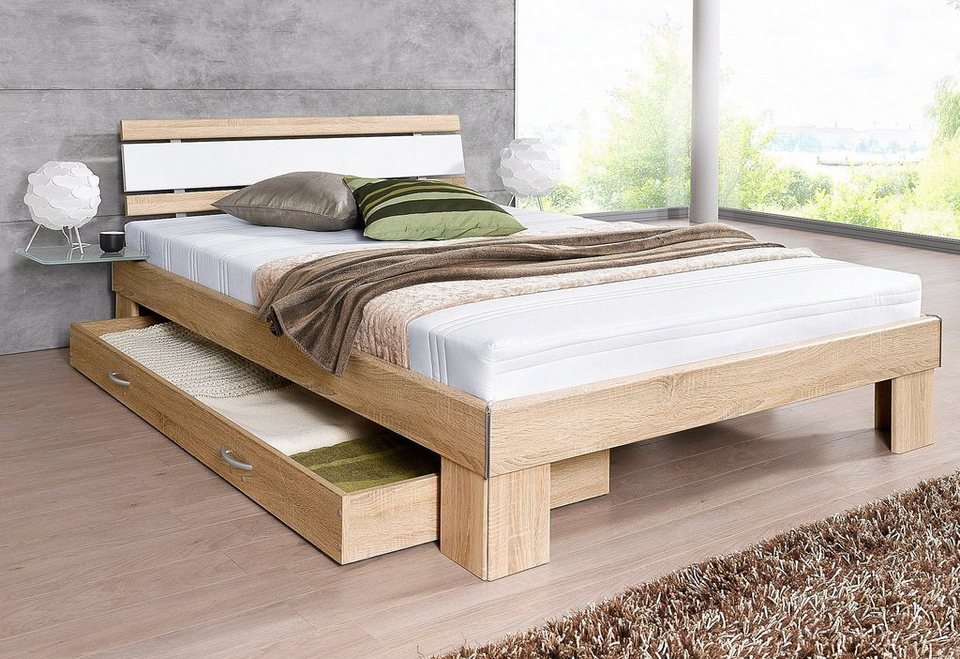 Jockenhöfer Gruppe Futonbett Ausf 2 4 Bett Komplett Mit Matratze Und Online Kaufen Otto