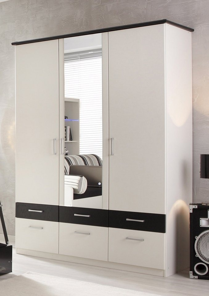kleiderschrank 2 oder 3 t rig made in germany otto. Black Bedroom Furniture Sets. Home Design Ideas