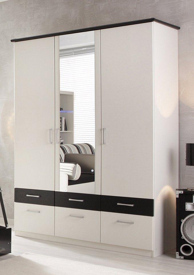 kleiderschrank 2 oder 3 t rig made in germany otto. Black Bedroom Furniture Sets. Home Design Ideas