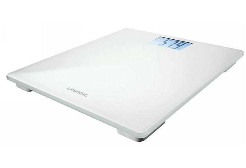Grundig, Digitale Körperwaage, PS 2010, weiß in weiß