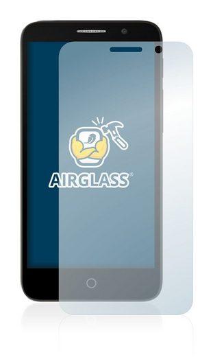BROTECT Schutzfolie »Panzerglasfolie für Alcatel Tru«, Schutzglas Glasfolie klar