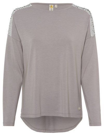 ROADSIGN australia Langarmshirt »Shine Bright« (1-tlg) mit Pailletten-Besatz