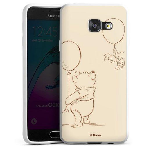 DeinDesign Handyhülle »Winnie & Ferkel« Samsung Galaxy A3 (2016), Hülle Winnie Puuh Disney Offizielles Lizenzprodukt